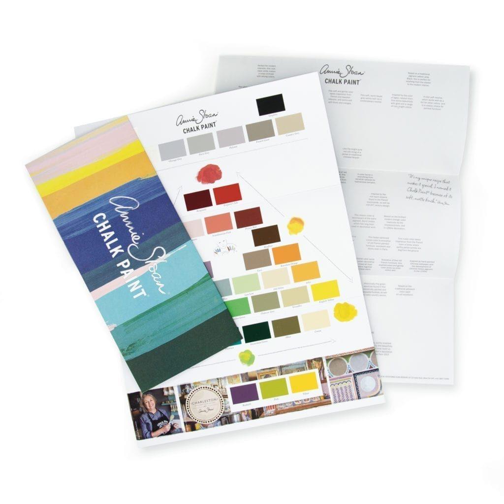 The Chalk Paint Colour Card by Annie Sloan