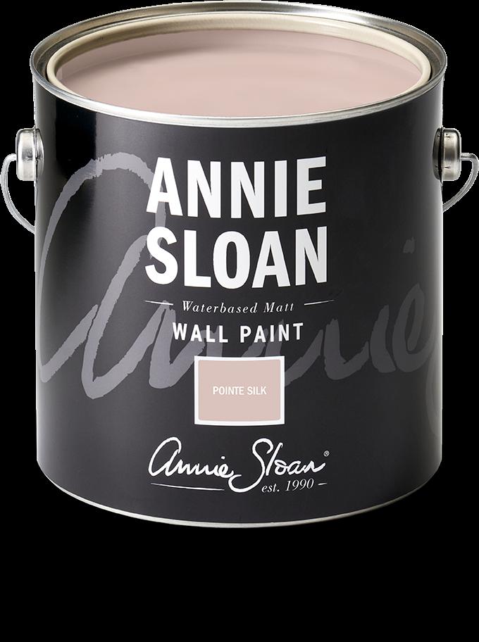 Pointe Silk wall paint in 2.5l tin by Annie Sloan